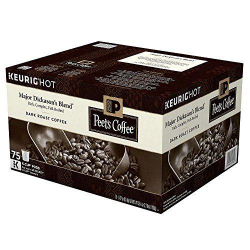 Peets Coffee Major Dickasons Blend Dark Roast 75 Kcups Pack Of 2 For More Information Visit Image Link This Is An Peets Coffee Blended Coffee Dark Roast