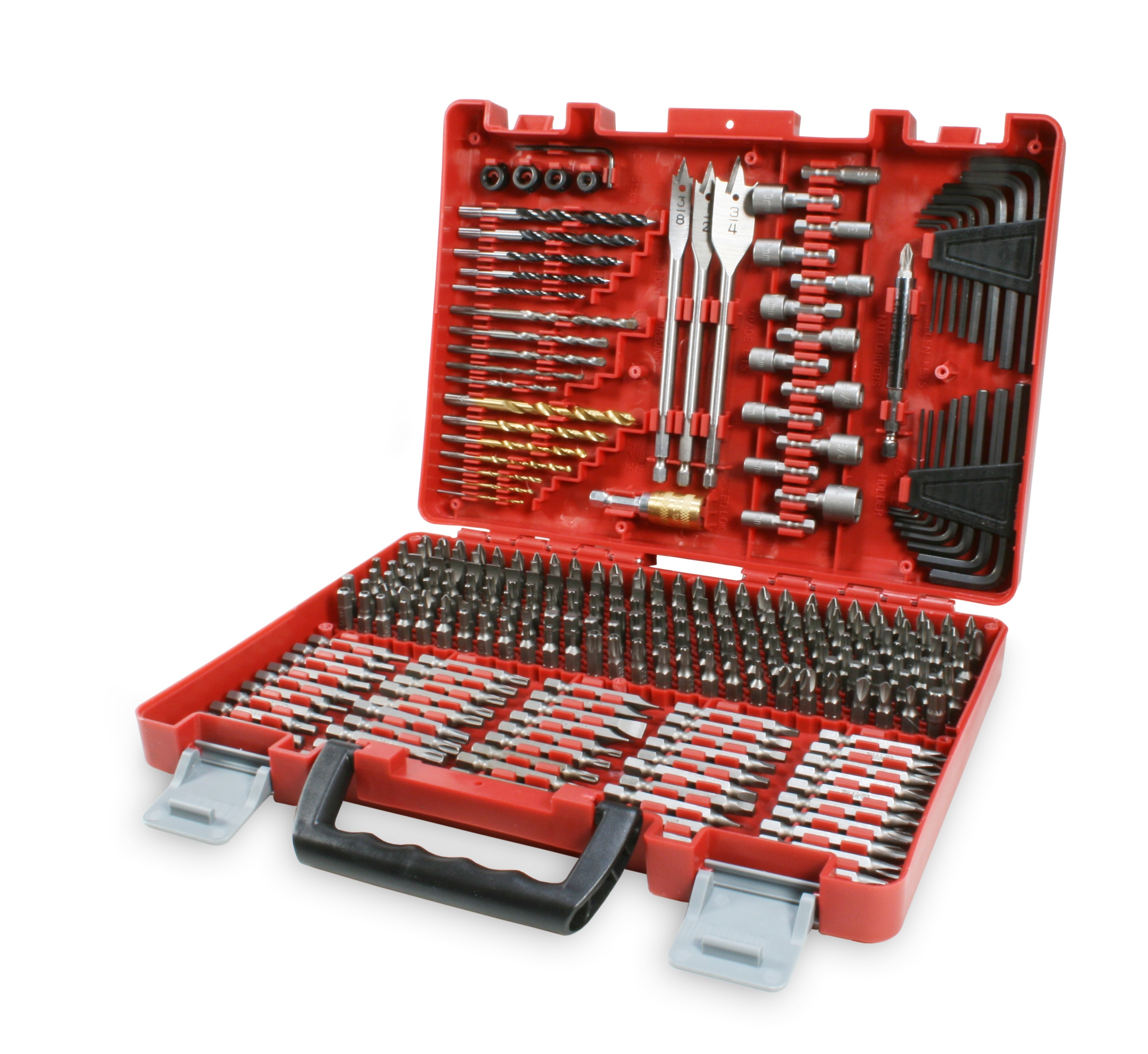 300 Piece Craftsman Drill Bit Accessory Kit 22 49 At Sears Essential Woodworking Tools Woodworking Tools Router Woodworking Tools Storage