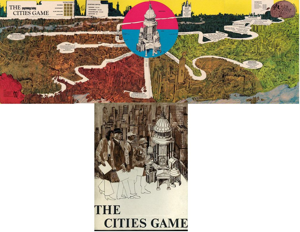 THE CITIES GAME City games, Secret deals, I am game