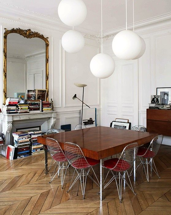 What\u0027s Hot on Pinterest 5 Vintage Dining Rooms for The Weekend - wohnzimmer farben beige