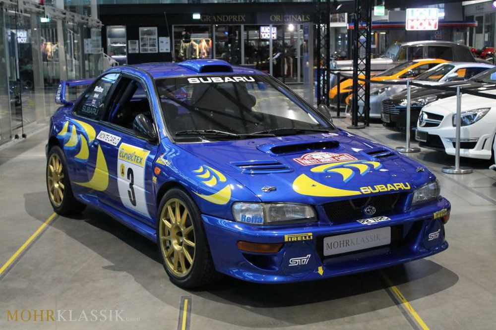 Colin Mcrae S 1997 Subaru Impreza Wrc Is Up For Sale Carscoops Subaru Rally Subaru Impreza Wrc Subaru
