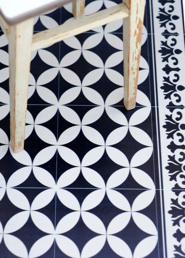 Beija Flor Mats. Practical imitation of authentic decorated tiles ...