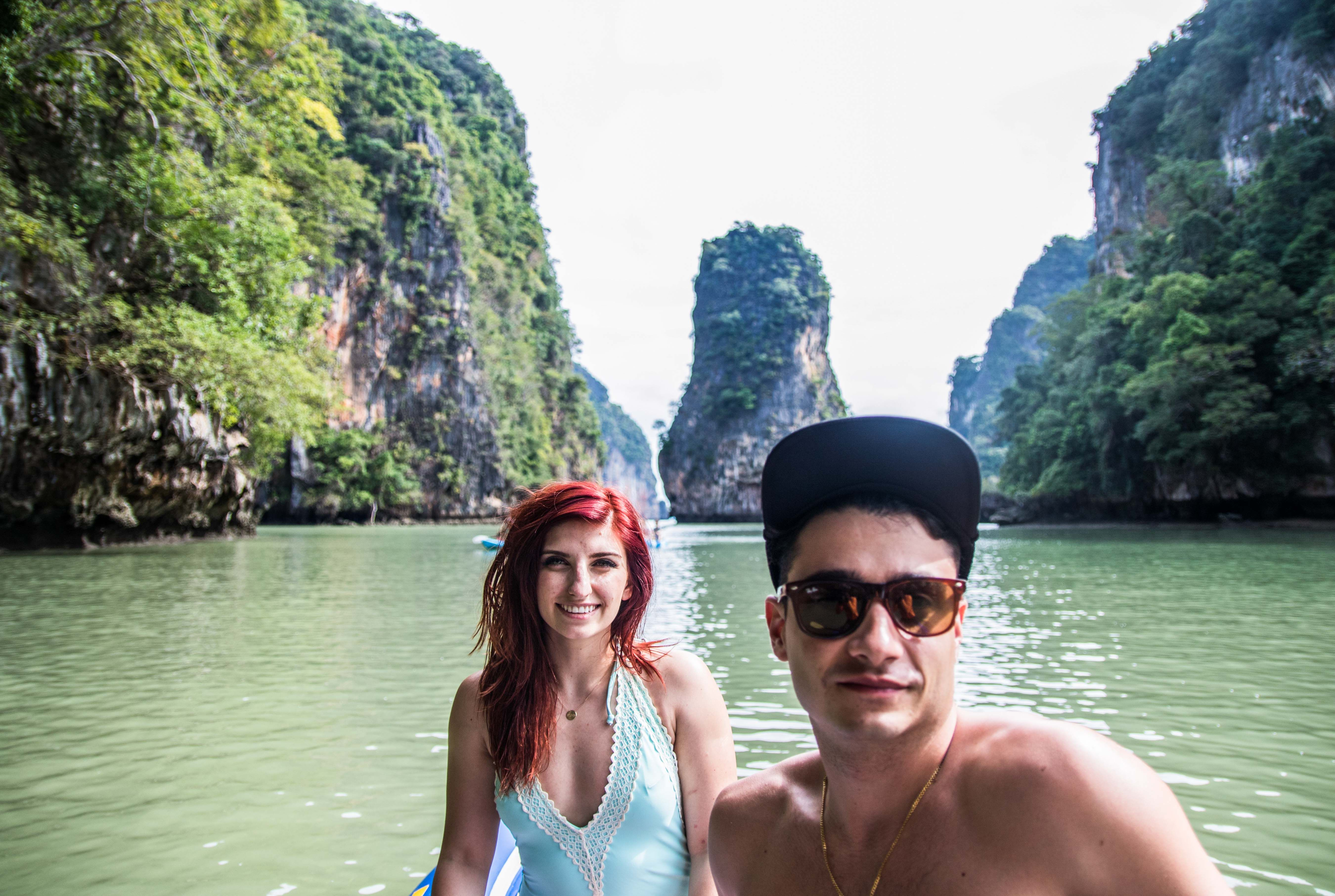 koh hong canoe couple photography