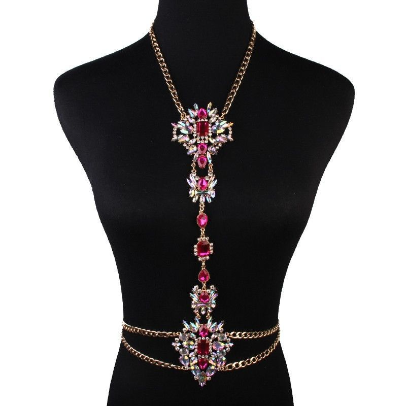 normal metal flower lyst oasis necklace collar product in metallic jewelry gold