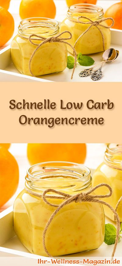 schnelles low carb orangencreme dessert im glas rezept pinterest low carb desserts. Black Bedroom Furniture Sets. Home Design Ideas