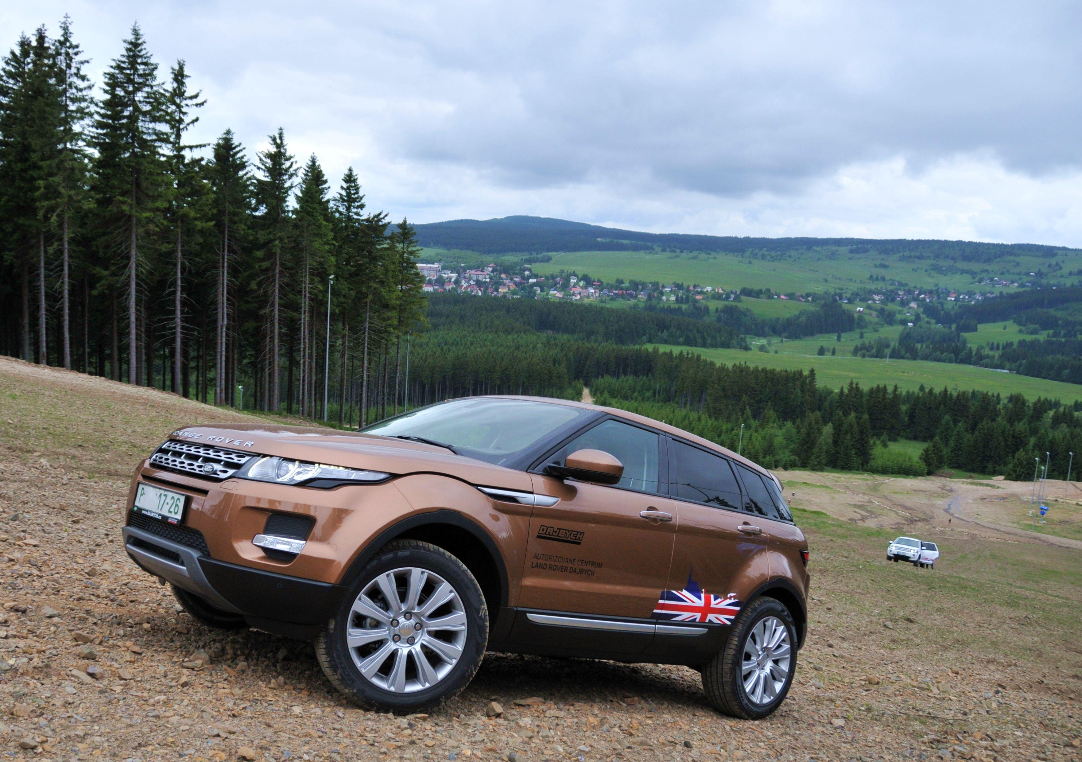 Range Rover Evoque, Krušné Hory, Horská Výzva