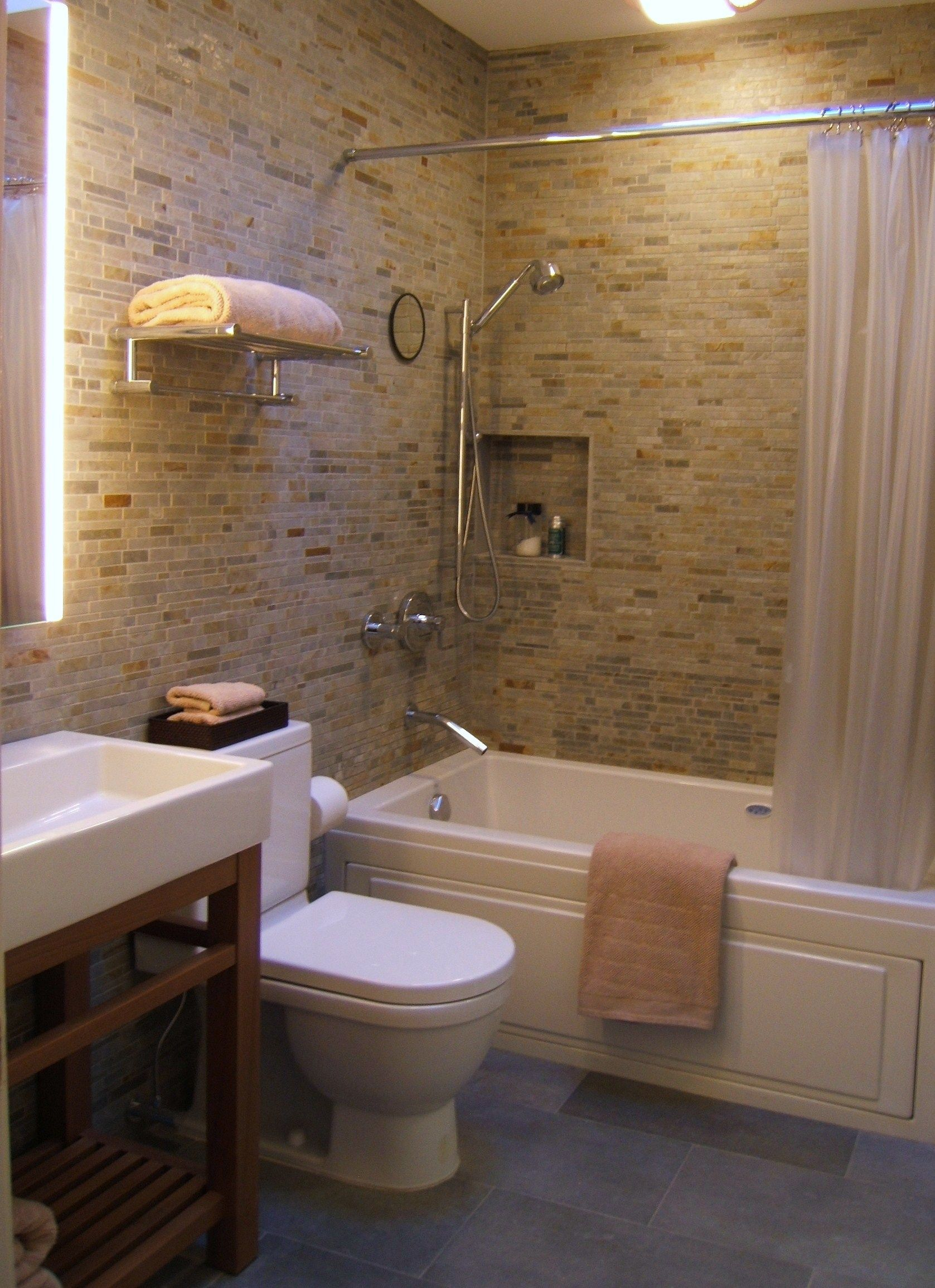 Small bathroom designs south africa small bath for Small bathroom layout with tub