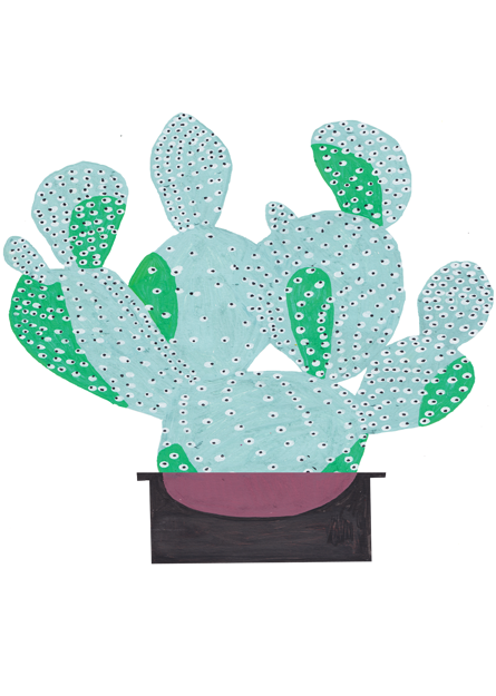 Cactus Stickers for the Poundshop 5 - Joshua Wiley
