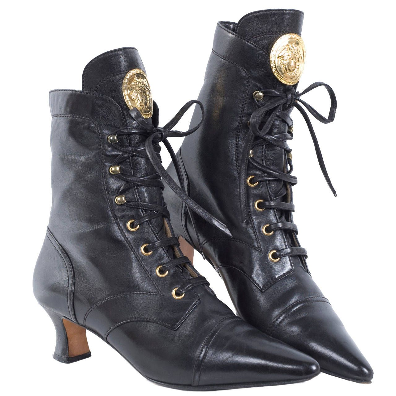 80 S Gianni Versace Boots 1stdibs Com Versace Boots Boots Fashion