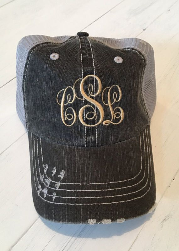 7564bfac3fe Custom Embroidered Hat. Custom Hat. Womens Hats. Mens Hats. Baseball Hat.  Visit