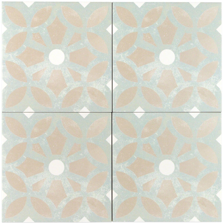 Bella Louvre 9x9 Porcelain Tile Tiles Patchwork Tiles Porcelain Tile