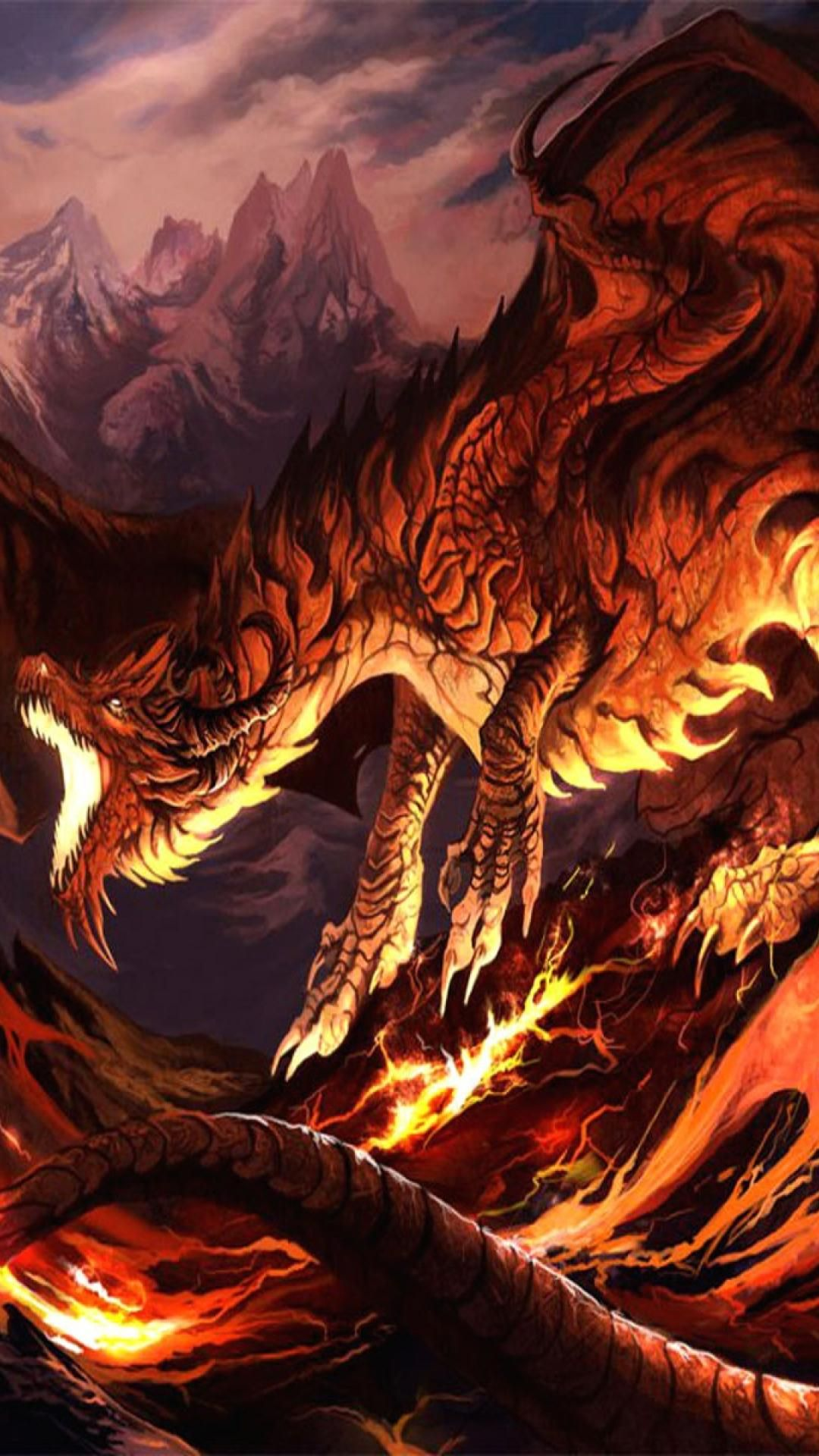 Dragon Wallpaper Iphone Flip Wallpapers Download Free