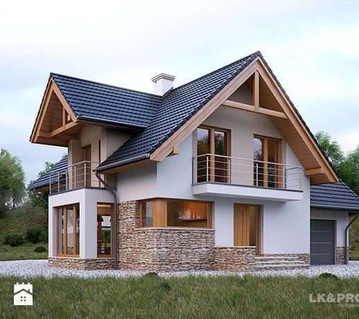 LK1130 - zdjęcie od LKProjekt Labacovn Pinterest - Plan Maison Sweet Home 3d