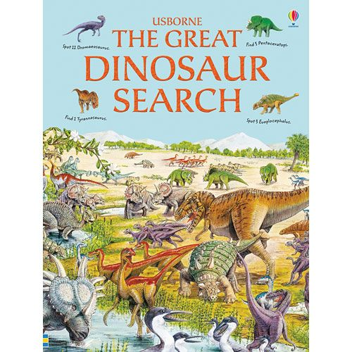 The Great Dinosaur Search Hidden Picture Book