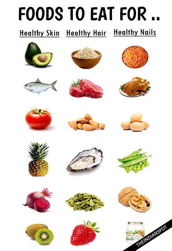 Healthy Food For Healthy Hair Organic Food