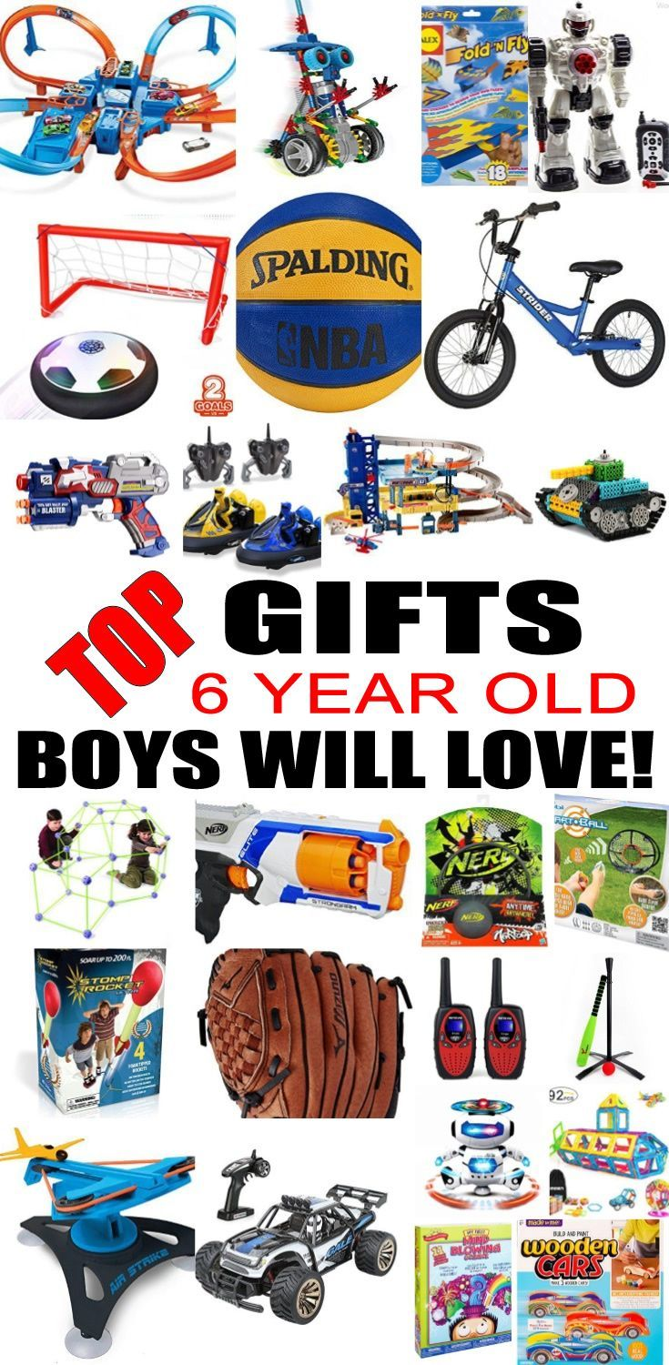 Top 6 Year Old Boys Gift Ideas | Presents for boys ...