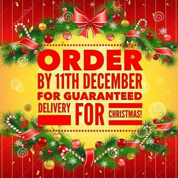 Last delivery date for guaranteed Christmas delivery ...