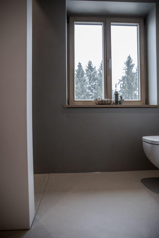 Dusche WC Badezimmer Bodensysteme Designboden Beschichtung