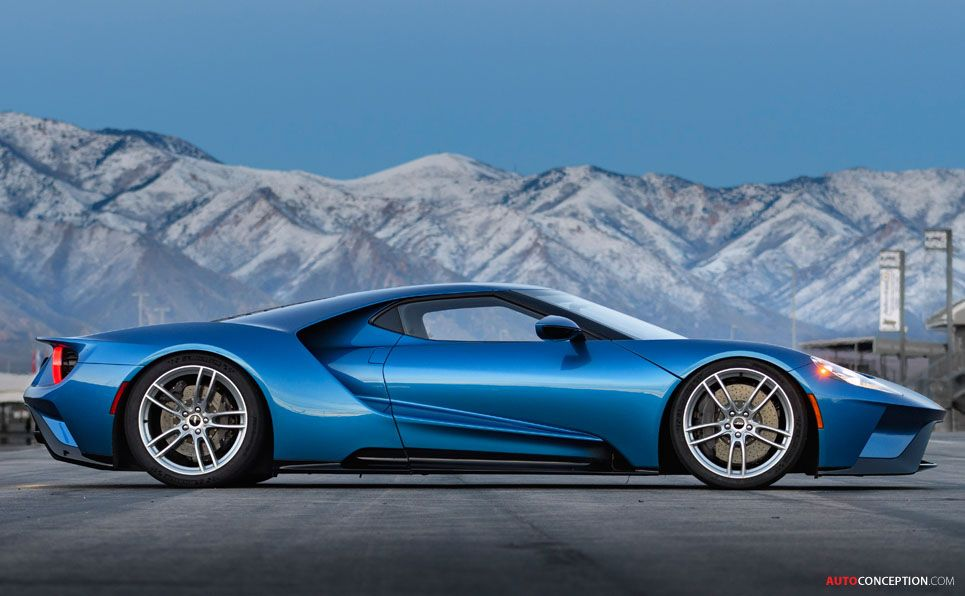 Ford Gt To Serve As Test Bed For Future Car Design Autoconception Com クラシックカー フォードgt 高級車