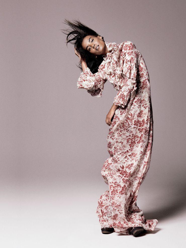 Liya Kebede by David Sims for Vogue US September 2015 1