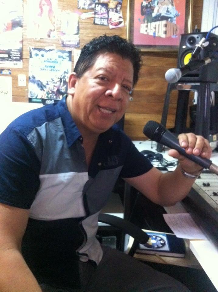 Rudy Muñoz, músico y presidente de La Hermandad Aliancista.