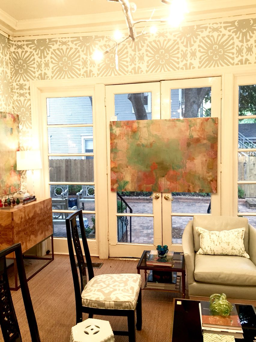 Paintings At Blue Print Store Dallas