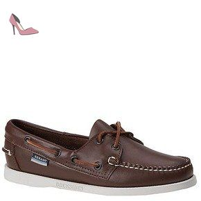 8e14ef397911ac Sebago Docksides, Chaussures bateau Femme - marron - Brown Elk, - Chaussures  sebago (