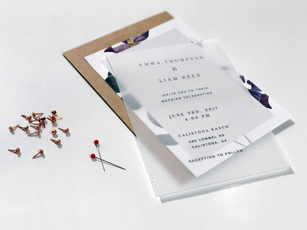 diy wedding invitations that are unique and affordable elegant