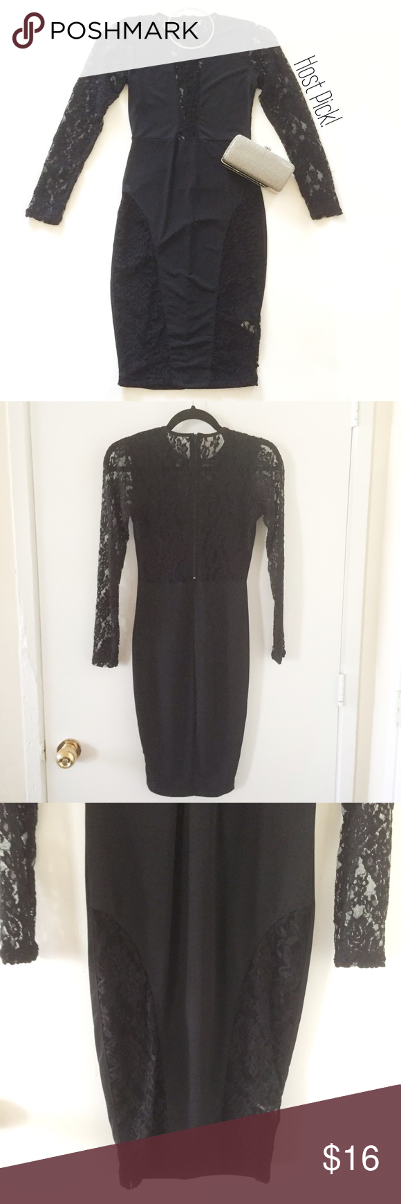 Sexy black long sleeve lace dress very sexy long sleeve black dress