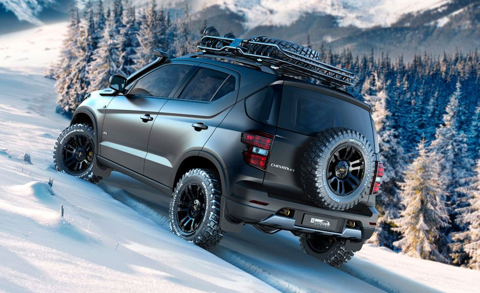The New Chevy Niva Concept Is Designed For Harsh Winters Chevrolet New Chevy Car Dealership