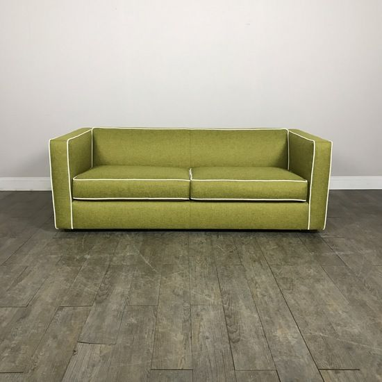 Lime Green Modern Sofa By Cb2 Chicago Il Https Www Marketsquarehome Com Items Lime Green Modern Sofa Cb2 Modern Sofa Sofa Lime Green