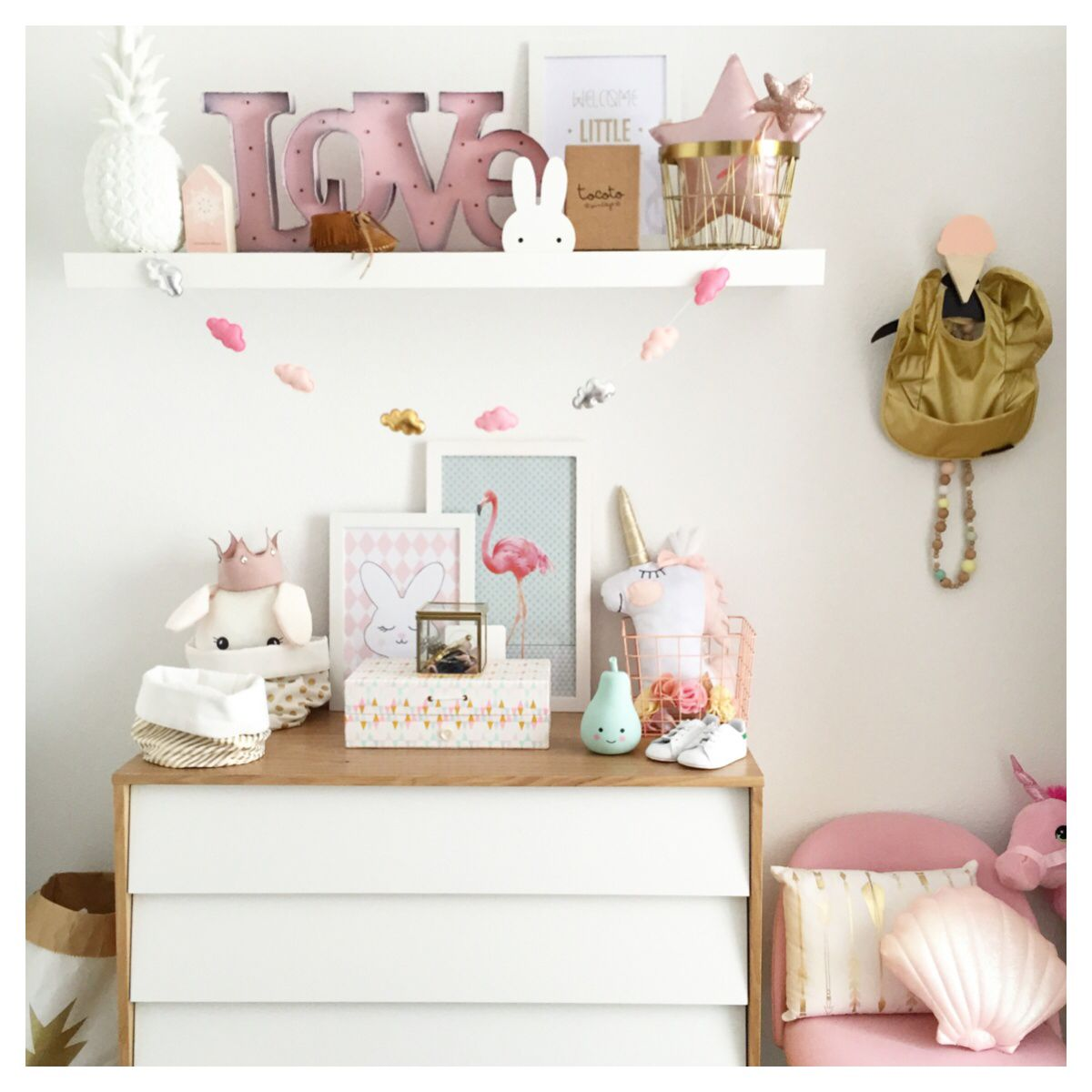 Favourite Scandinavian Nursery Kids Room Decor Items: Scandinavian Kids Room
