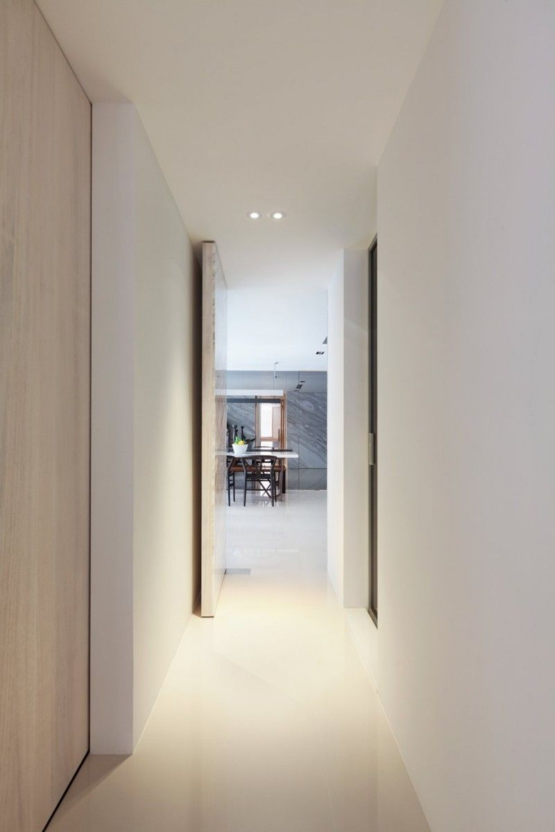 Residence Chang by ATELIERII | Pinterest | Clean slate, Living ...