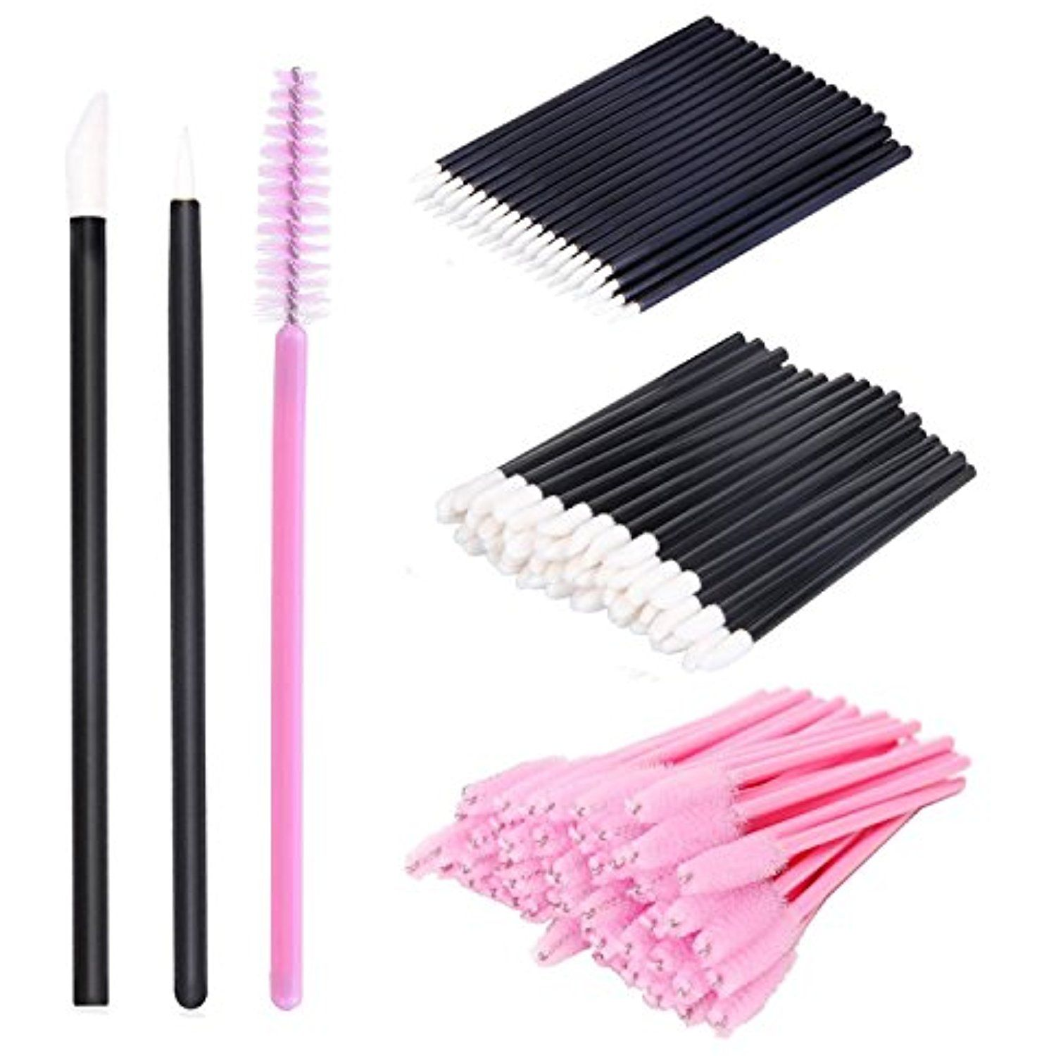 150 Pieces Disposable Makeup Brush Eyelash Mascara Brushes Eyeliner