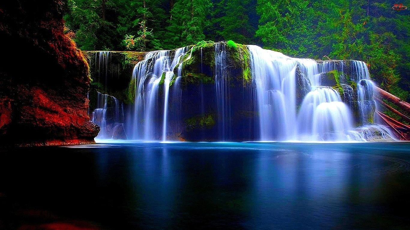 Lower Lewis River Falls, Washington, United States