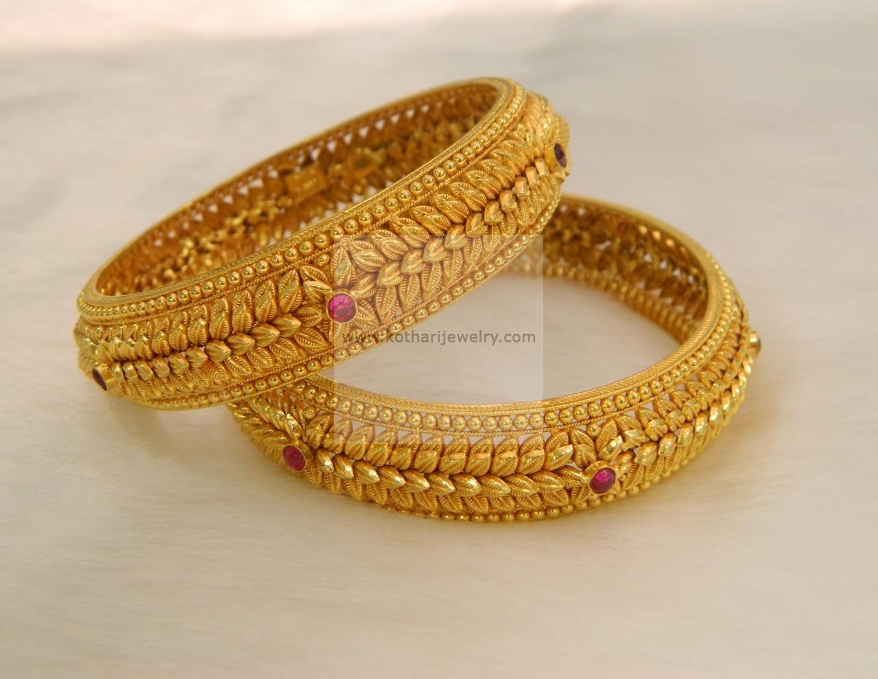 Gold kada pramoda pinterest gold bangle and jewel