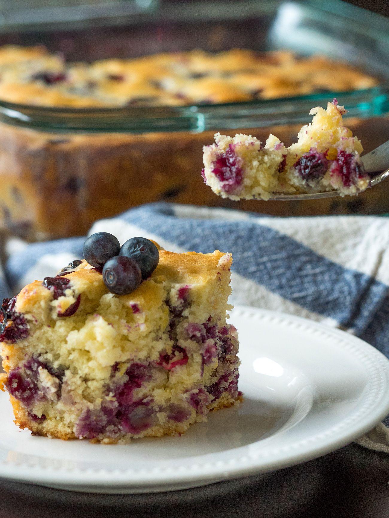 Buttermilk Blueberry Breakfast Bake