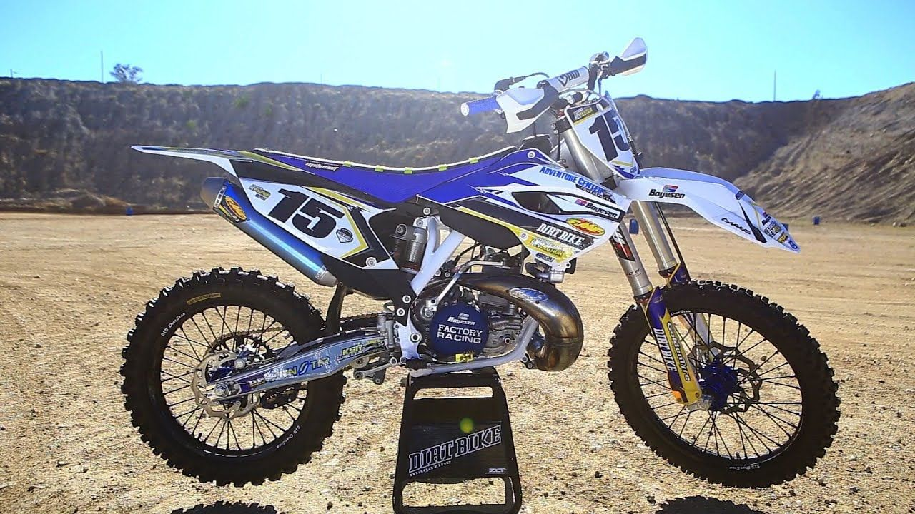 Project Husqvarna Tc 250 2 Stroke Dirt Bike Magazine Motocross
