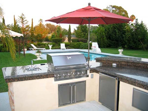 Outdoor kitchen design by San Diego Outdoor Kitchen Design 3