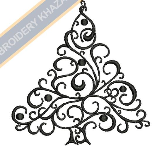 Christmas Tree Embroidery Design Christmastreelogo Christmastreelogoe In 2020 Christmas Tree Embroidery Design Flower Embroidery Designs Christmas Embroidery Designs
