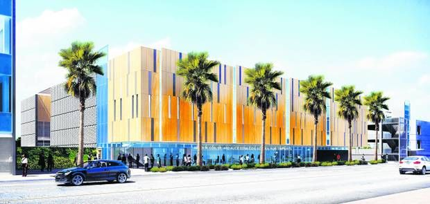 RIVERSIDE: College's new education plaza brings opportunities. The new concert hall with have state-of-the art acoustics!
