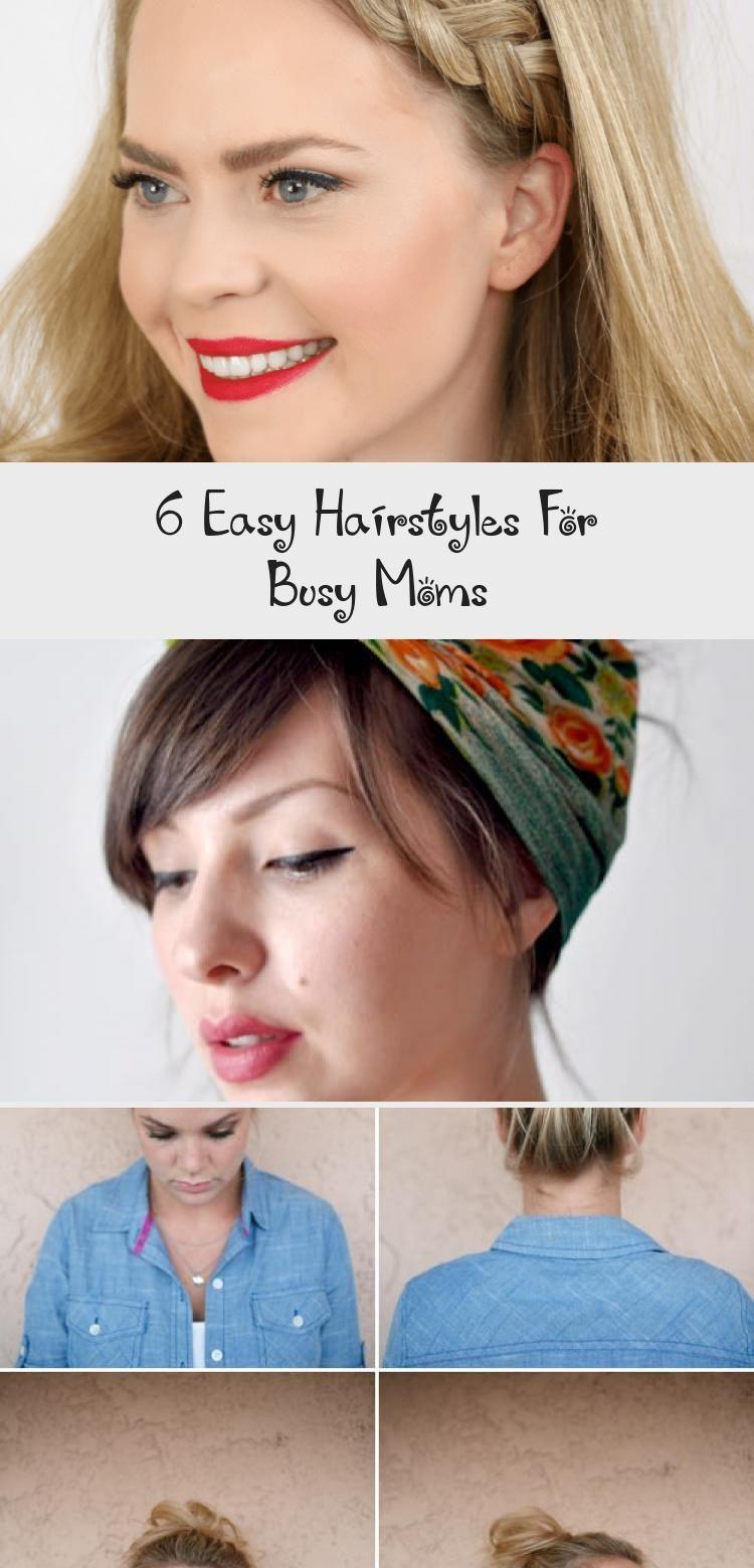 11 einfache Frisuren für beschäftigte Mütter - Frisur  A11VIDS - 11