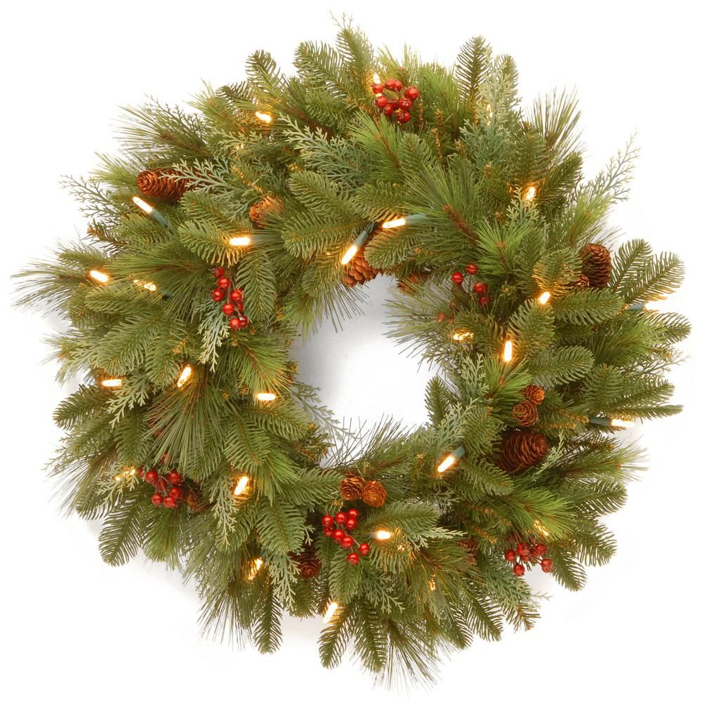 National Tree Company 24 in. Noelle Artificial Christmas