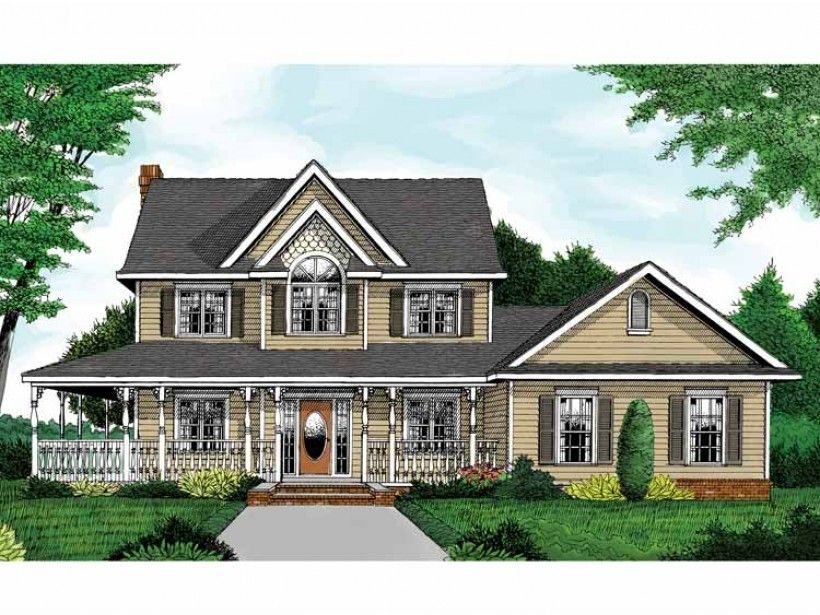 Eplans Cottage House Plan Country Farmhouse