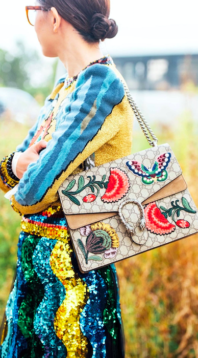 GUCCI, STREET STYLE, SEQUIN SKIRT, TOMMY TON, STREET STYLE ...