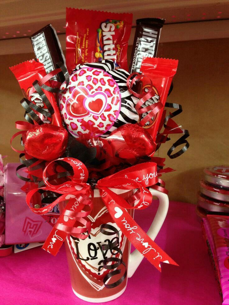 Detalle para el 14 de febrero taza de caf con sus for Decoracion san valentin pinterest