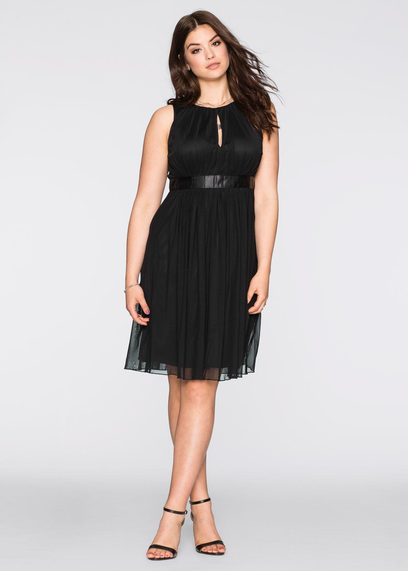 Kleid schwarz - BODYFLIRT jetzt im Online Shop von bonprix.de ab