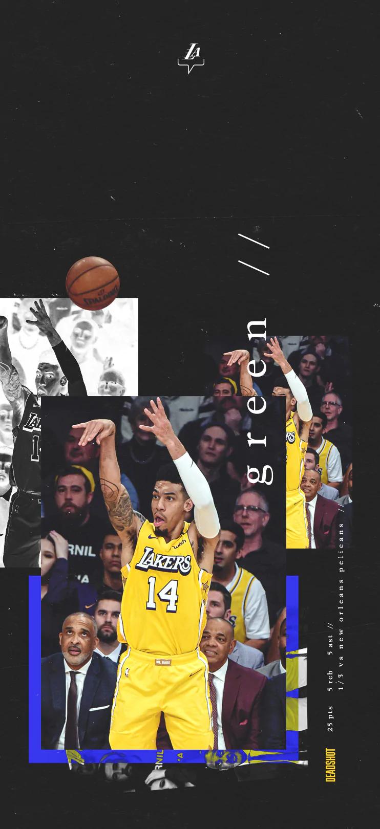 Danny Green Wallpaper In 2020 Lakers Lakers Wallpaper Basketball Finals