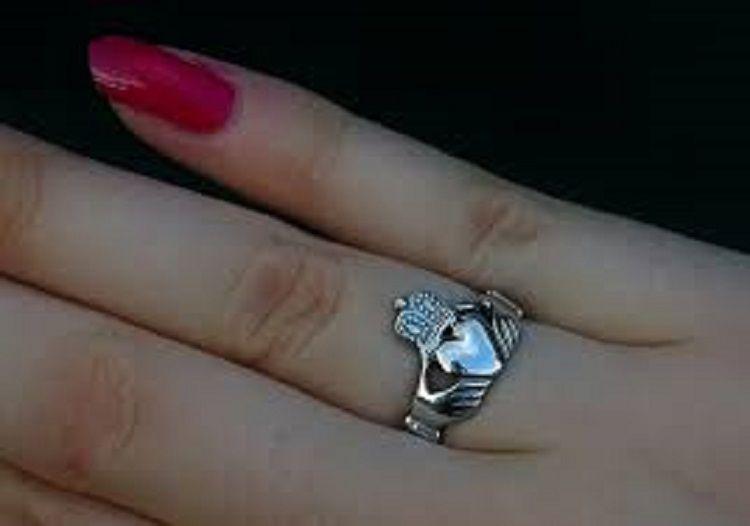 Irish Wedding Ring Right Hand Irish Wedding Rings Irish Wedding Purple Wedding Rings