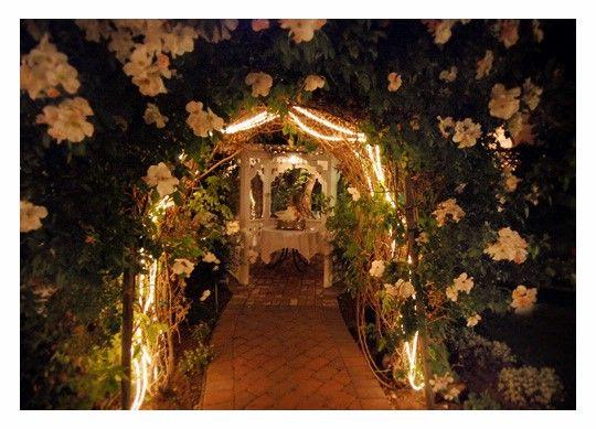 Wedding Reception Entrance Decoration Idea